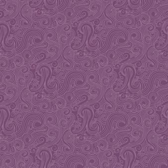 Purple swirls pattern