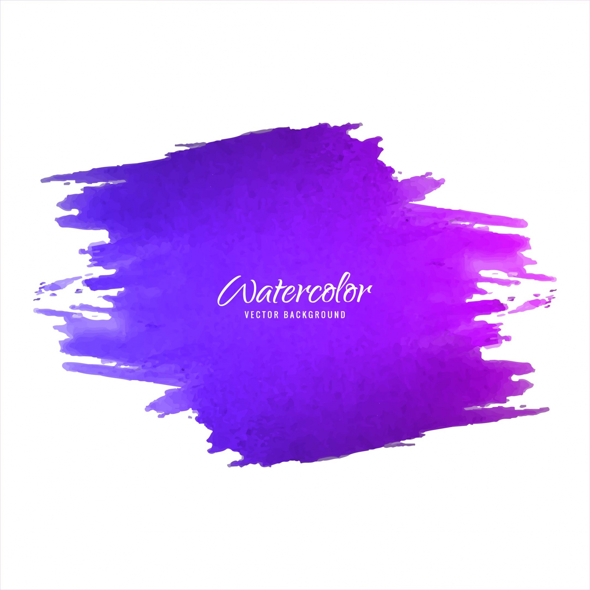Purple watercolor brush background