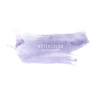 Purple watercolor stain