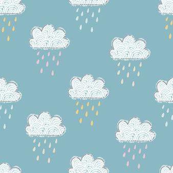 Rain pattern background