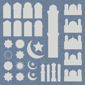 Ramadan icons collection
