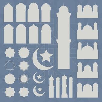Ramadan icons collection