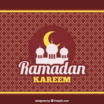 Ramadan kareem pattern background