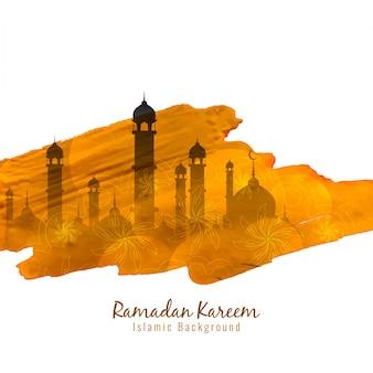 Ramadan kareem religious design
