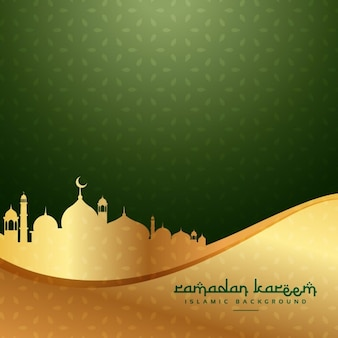Ramadan muslim festival background