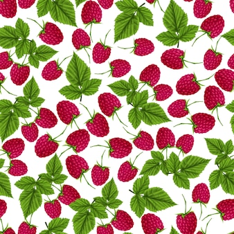 Raspberry pattern design