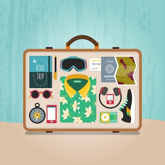 Ready suitcase
