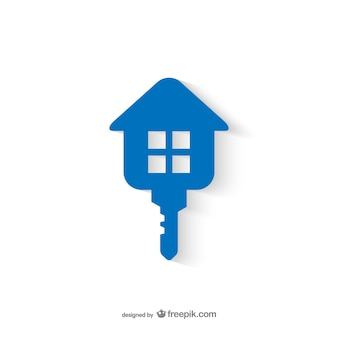 Real Estate key logo