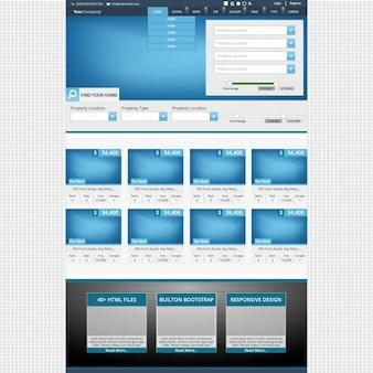 Real Estate Website Browser