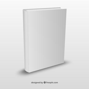 Realistic book template