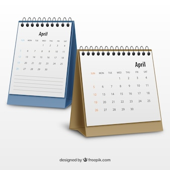 Realistic calendars