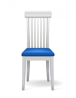 Realistic chair in 3d