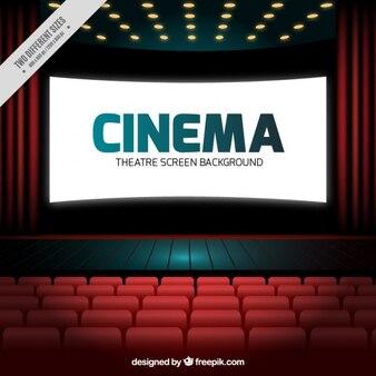 Realistic cinema screen