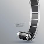 Realistic film roll