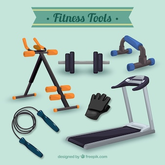 Realistic fitness tools