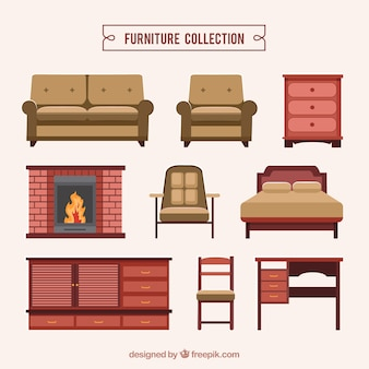Realistic furniture collection