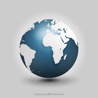 Realistic globe