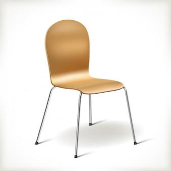 Realistic kitchen chair