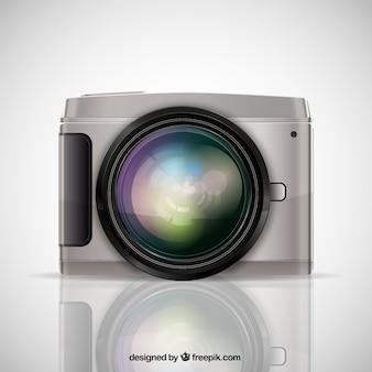 Realistic photographic camera