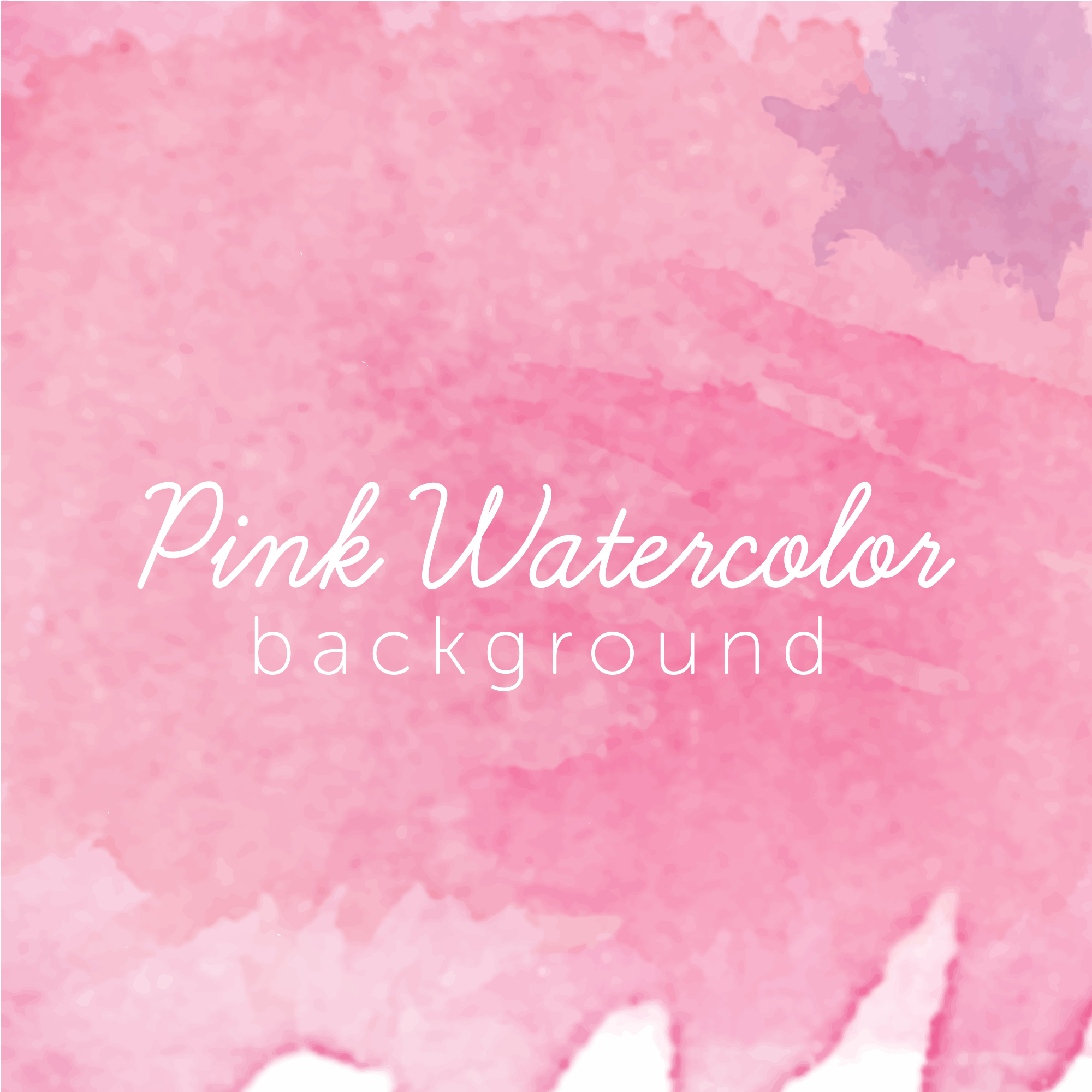 Realistic pink watercolor texture