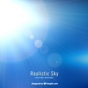 Realistic sky