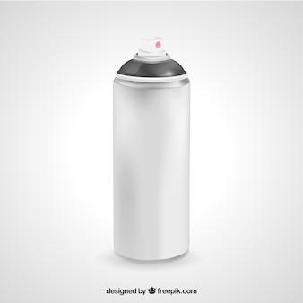 現実的なスプレー缶
