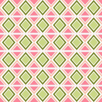 Red and pink geometric pattern