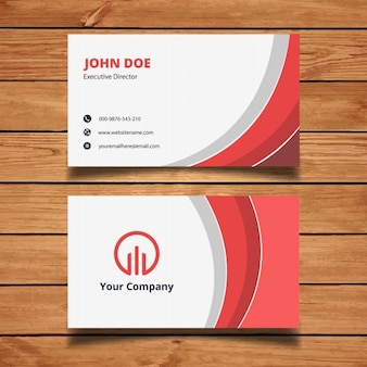 Red and white corporate background