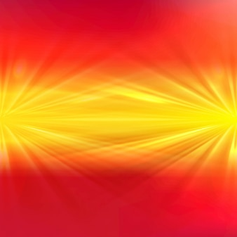 Red and yellow shiny lights background
