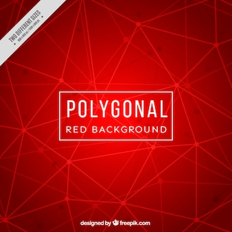 Red background with lines and dots