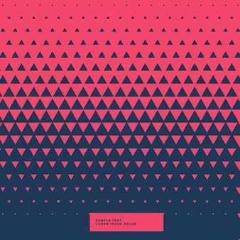 Red background with triangles
