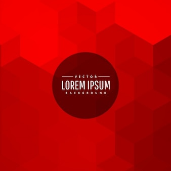 Red color abstract background