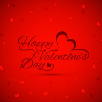 Red color valentines day background