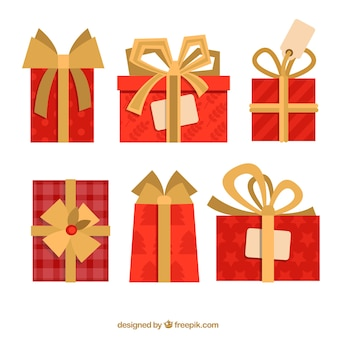 Red gifts collection