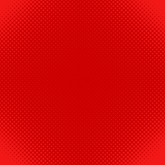 Red halftone dot pattern background - vector design from circles in varying sizes