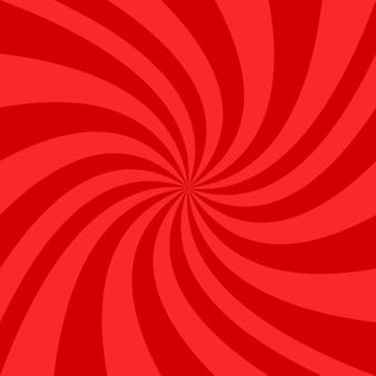 Red spiral background design