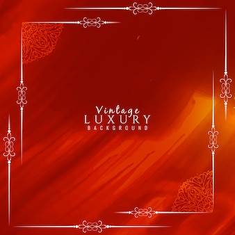Red vintage luxury background
