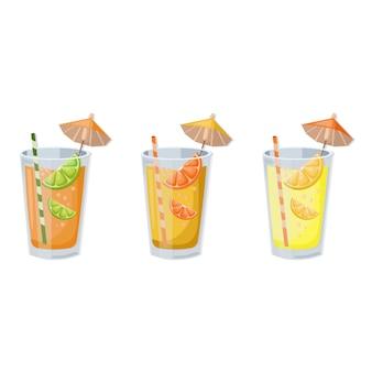 Refreshing fruit juice
