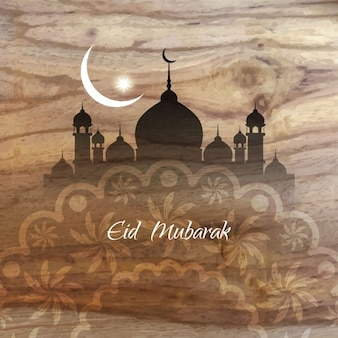 Religious eid mubarak background