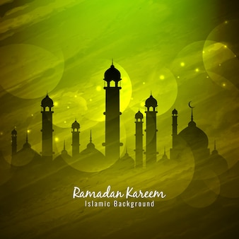 Religious ramadan kareem design