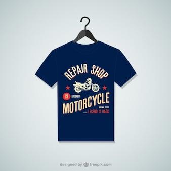修理店のTシャツ