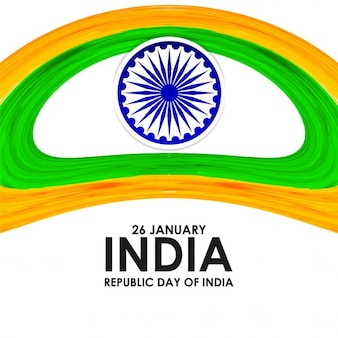 Republic day of india, abstract background