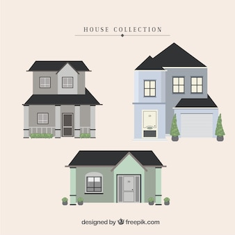 Residential houses collection