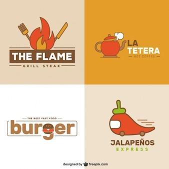 Restaurant Logo Set