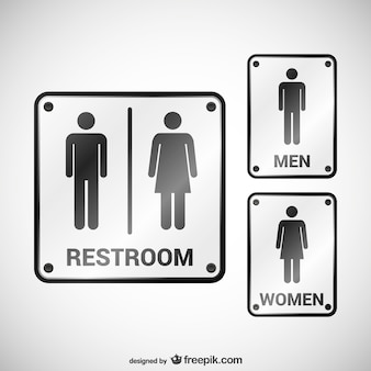 Bathroom Sign Male Vector restroom signs vector | free download