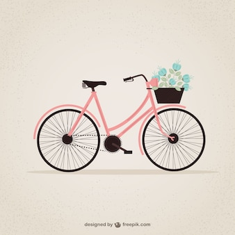Retro bicycle