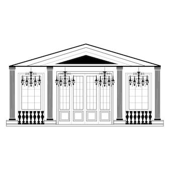 Retro building design