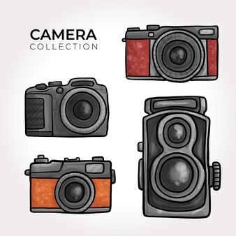 Retro camera collection
