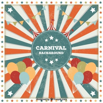 Retro carnival background