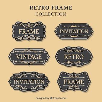 Retro frame collection